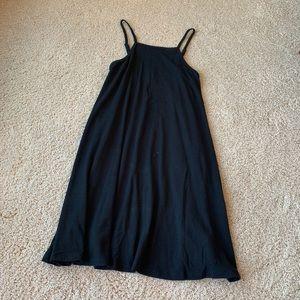High Neckline Little Black Dress